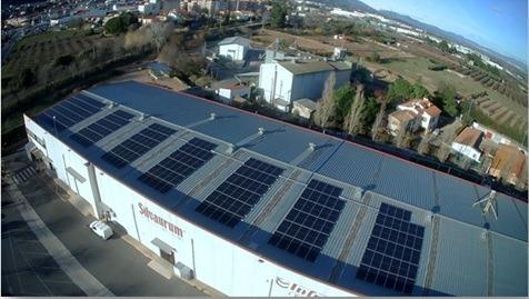 L'Avellanera instal·la panells solars a la seva planta productora de La Selva del Camp (Tarragona)